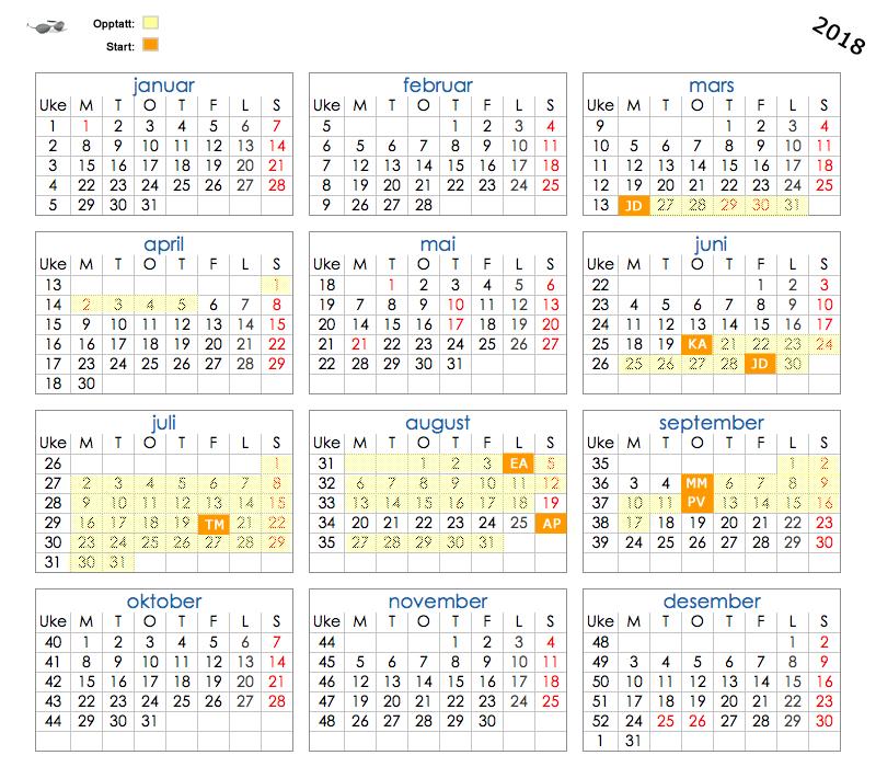 Norsk Kalender 2017 Med Helligdager Html Autos Weblog